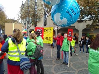 Greenpeace sammelt sich